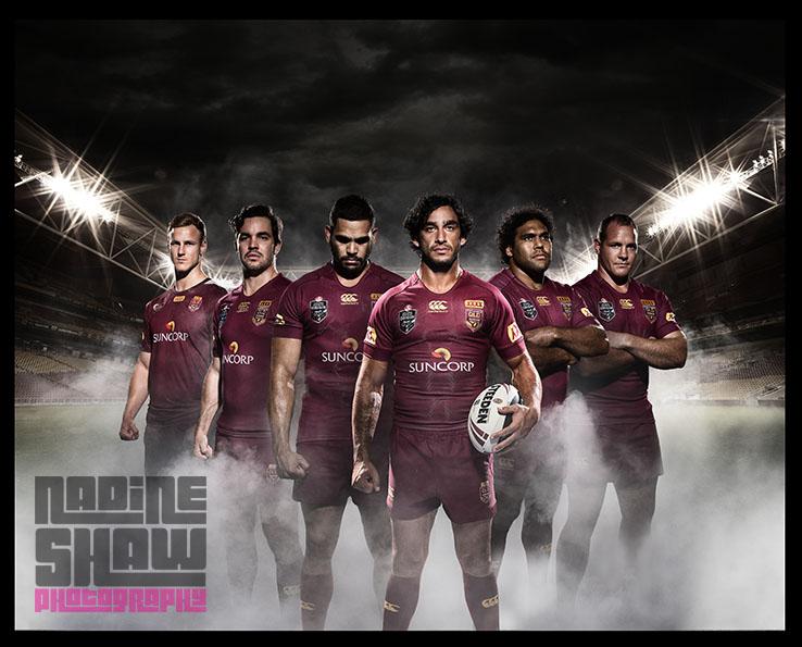 Poster image for Queensland state of Origin 2015 and Canterbury, Jonathan Thurston, Sam Thiaday, Matt Scott, Corey Parker, Danial Vidot