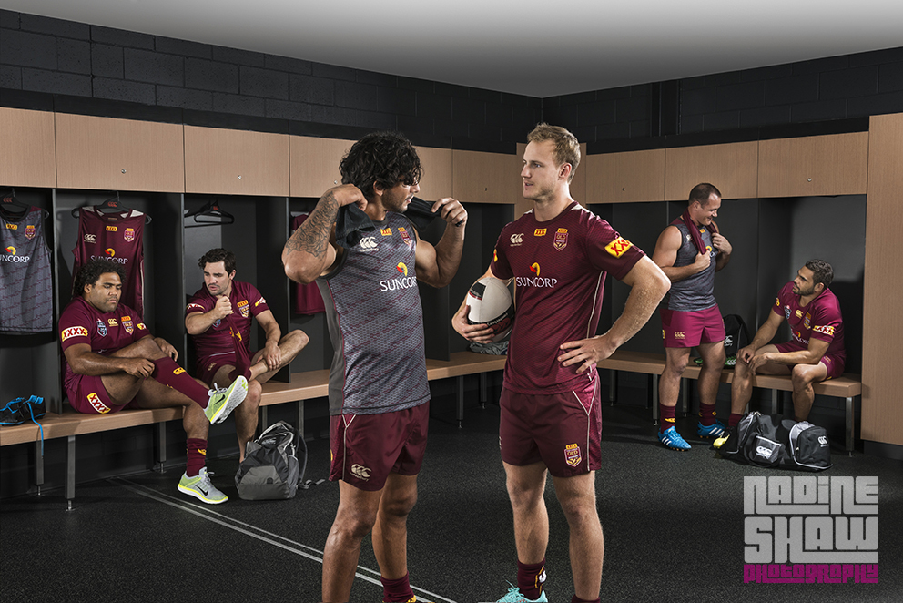 State of Origin QRL in CanterburyNZ Training Gear